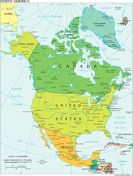 Collection Of A Variety Of Maps Very Interesting Reference North America Map America Map Political Map