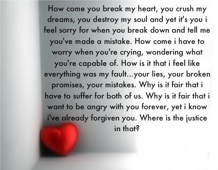 Poems About Broken Hearts And Love