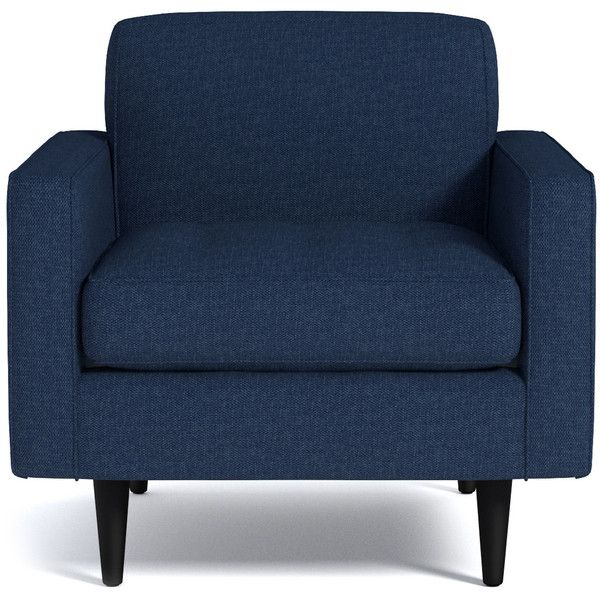 Superieur Apt2B Monroe Navy Blue Chair (1,155 CAD) ❤ Liked On Polyvore Featuring Home,