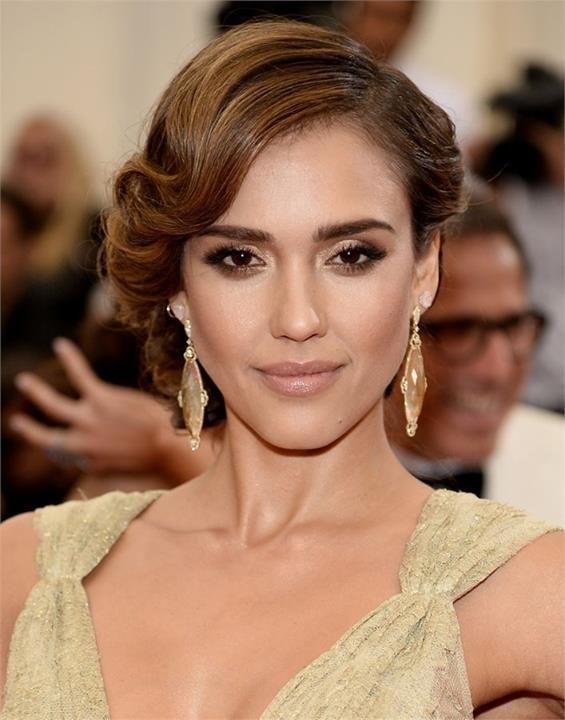 Jessica Alba Met Gala 2014 Makeup   Beauty Portfolio   Pinterest ...