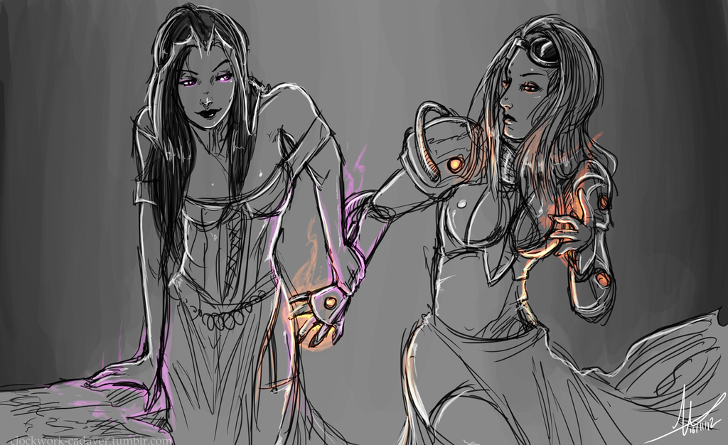 Mtg Liliana And Chandra