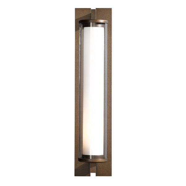 Hubbardton Forge Glass Shades: Hubbardton Forge 30-645 Fuse Outdoor Sconce