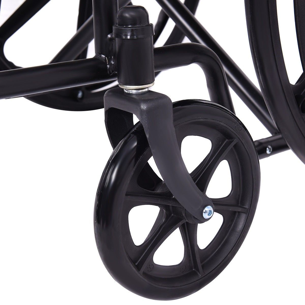 Wheelchair W Full Arms Swing Away Footrest Silversport1 Series Manual Wheelchair Mobility Scooter