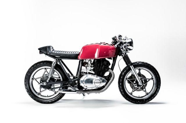1981 Suzuki Gs450 Cafe Racer Stunning Rebuild And Customization No Reserve Cafe Racer Suzuki Cafe Racer Bike Shed