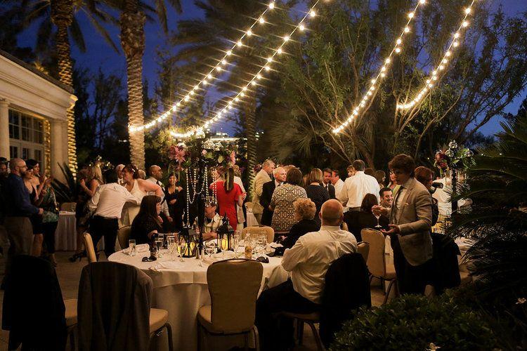 Jw Marriott Las Vegas Wedding Vegas Wedding Las Vegas Weddings Outdoor Reception