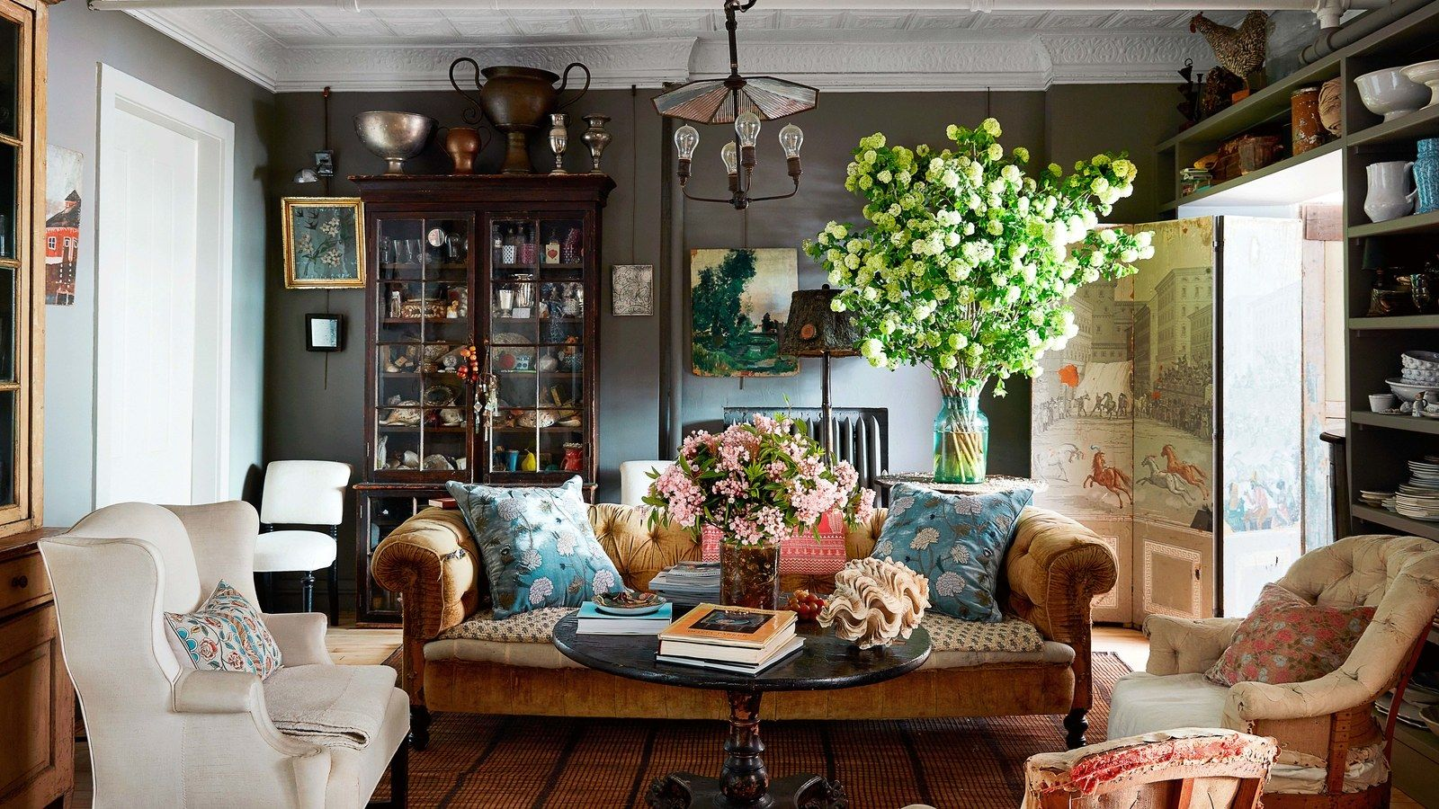 Explore The Layered Wonderland Of John Derian S Home Farm House