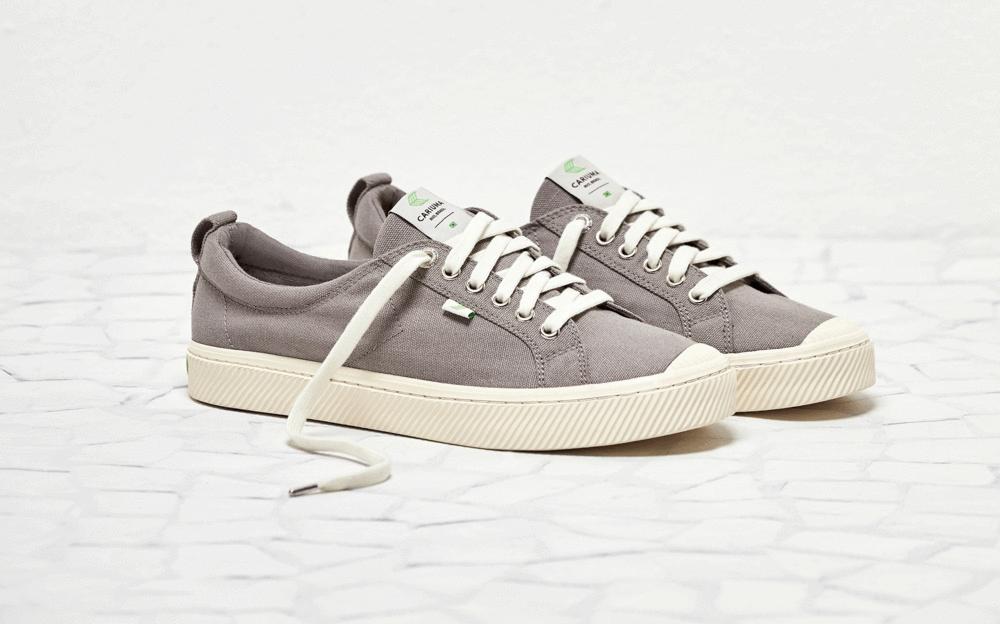 OCA Low Mystic Grey Canvas Sneaker