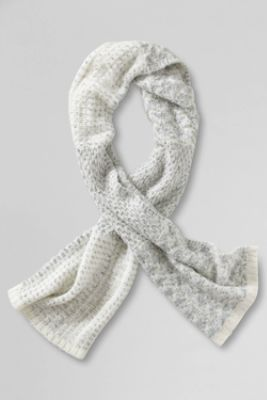 Women's Texture Marl Scarf from Lands' End