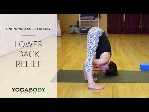 yoga poses for lower back relief  youtube  back relief