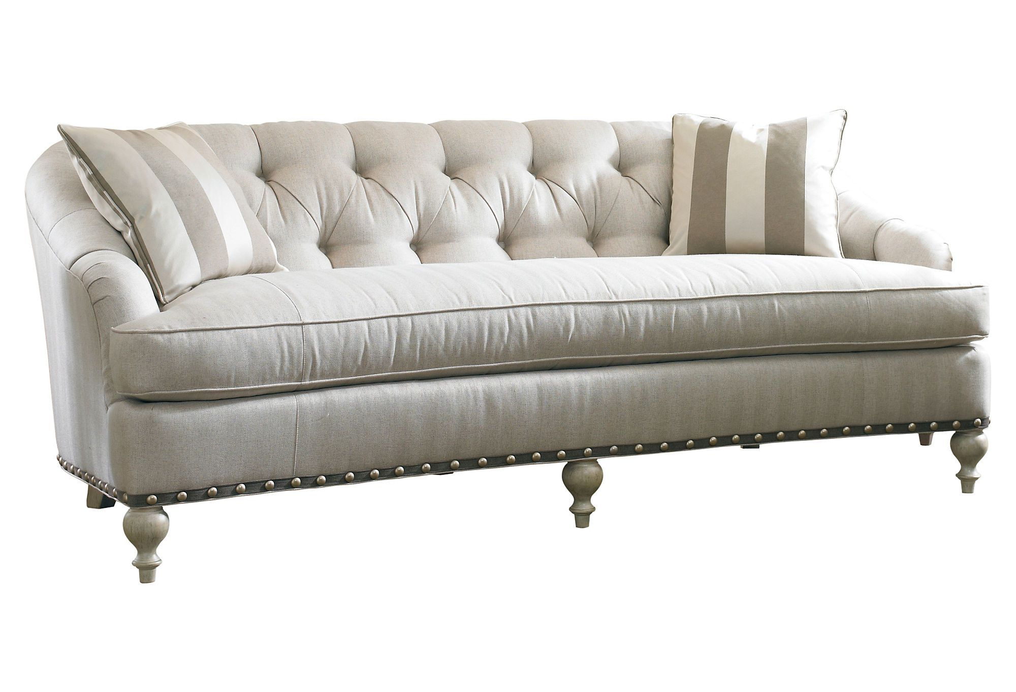 Toulouse 81 Tufted Sofa Beige Le Cool One Kings Lane