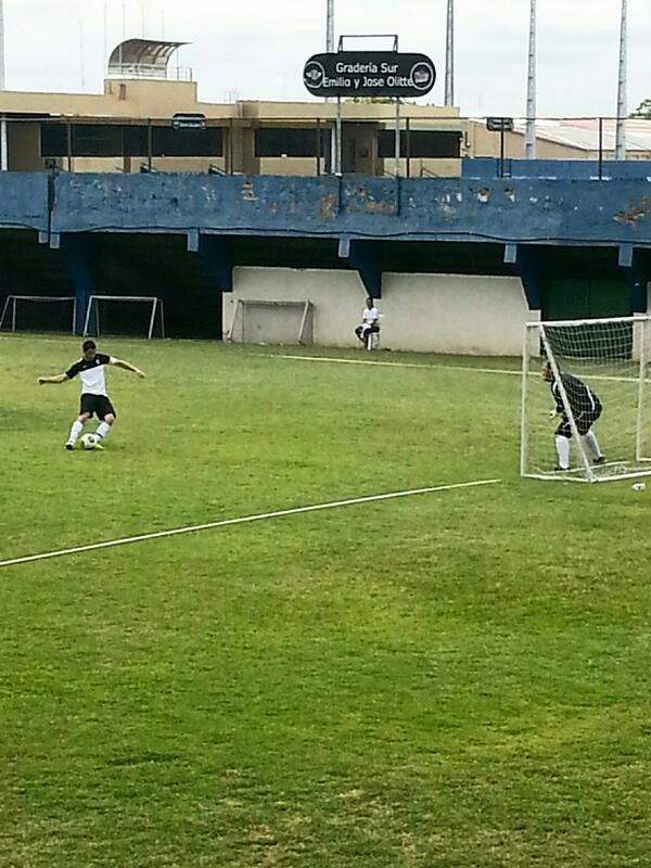 A C United (Nick) vs. Bilbo Real (Joe and Kevin) soccer (football) game in Asuncion, Paraguay on March 16, 2013 #JB2013 ... ACU won!