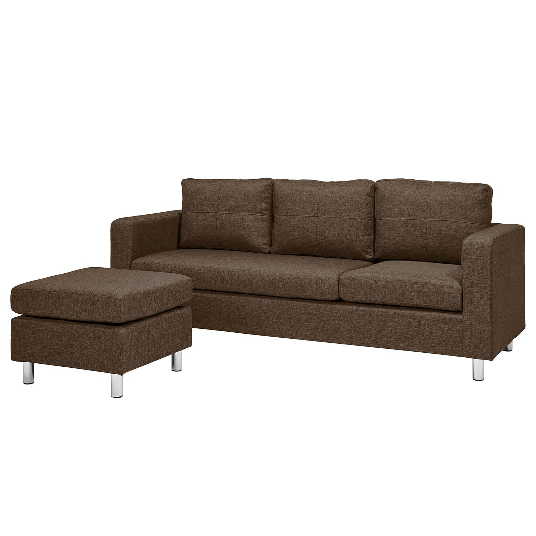 Sofa Wyke 3 Sitzer Mit Hocker Webstoff Sofa Ledersofa Sofas