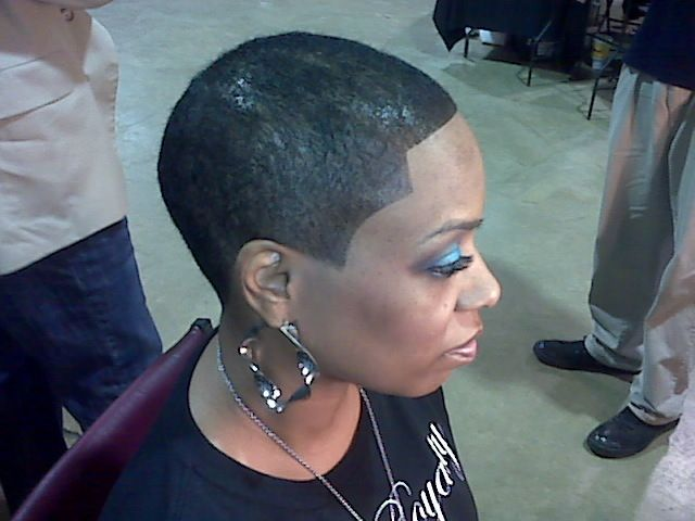 Short Black Barber Cuts For Women