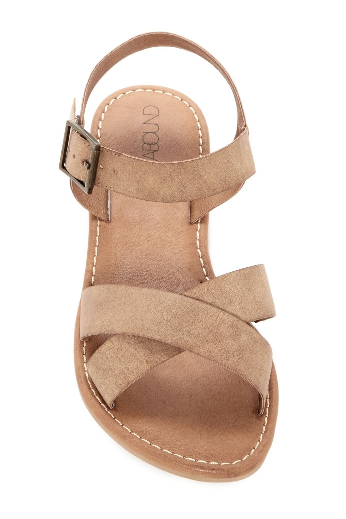 e2b5dd0f8917f3 Abound - Meesha Flat Sandal - Wide Width Available. Free Shipping on orders  over  100.
