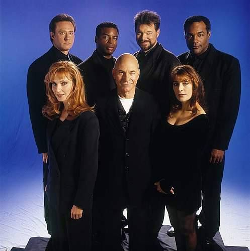 The Cast Of Star Trek The Next Generation Fandom Star Trek