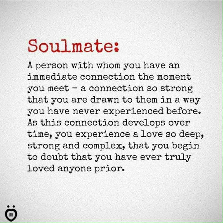 Pin by Cheryl Faddah on quote's | Soulmate love quotes ...