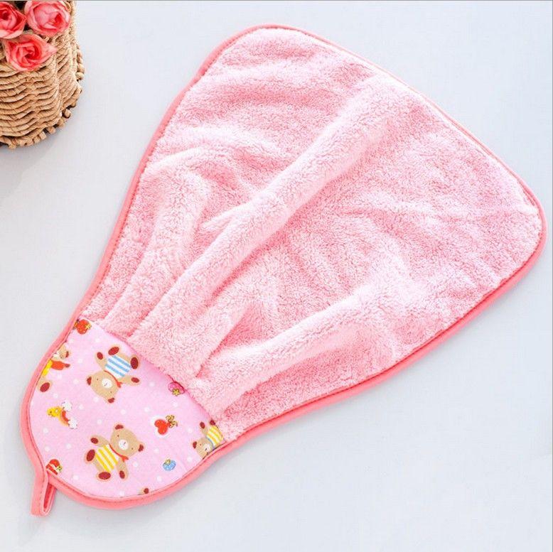 2PCS 45*30 cm Cute Animal Microfiber Cartoon Absorbent Hand Dry Towel Lovely Hand towel Free shipping