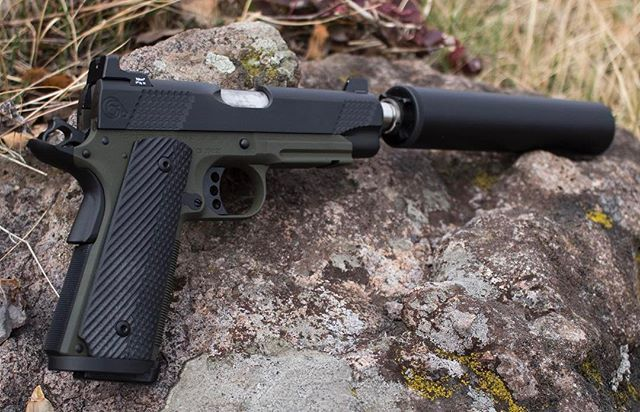 Who shoots suppressed? Tweet a picture of your Christensen ... M1911 Suppressed
