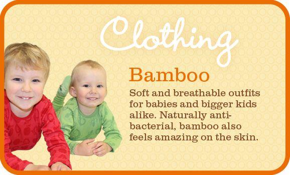 Bamboo clothes