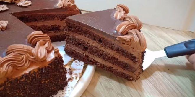 Gâteau chocolat crème au beurre | Gateau chocolat, Gateau ...