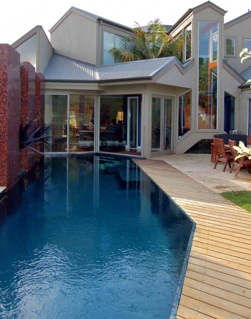 Garden Small Swimming Pool Design In 2020 Lap Pool Designs Pool Designs Lap Pools Backyard