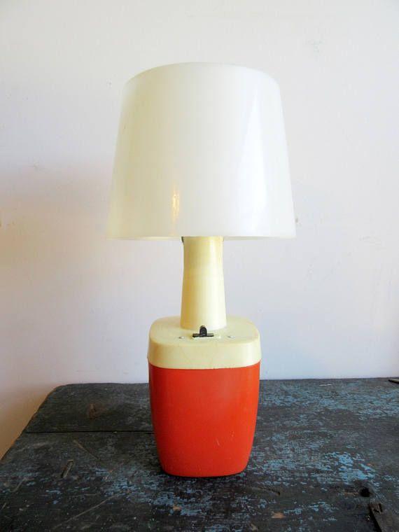 vintage retro cordless lamp camping boating light battery operated 6 rh pinterest co uk