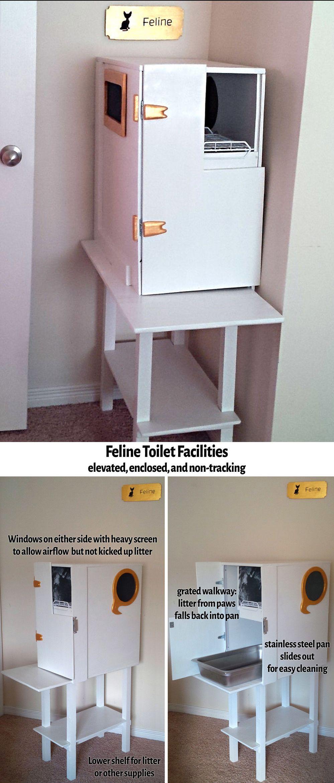 Fancy Feline Facilities Cat Training Litter Box Cat Litter Box Cat Litter