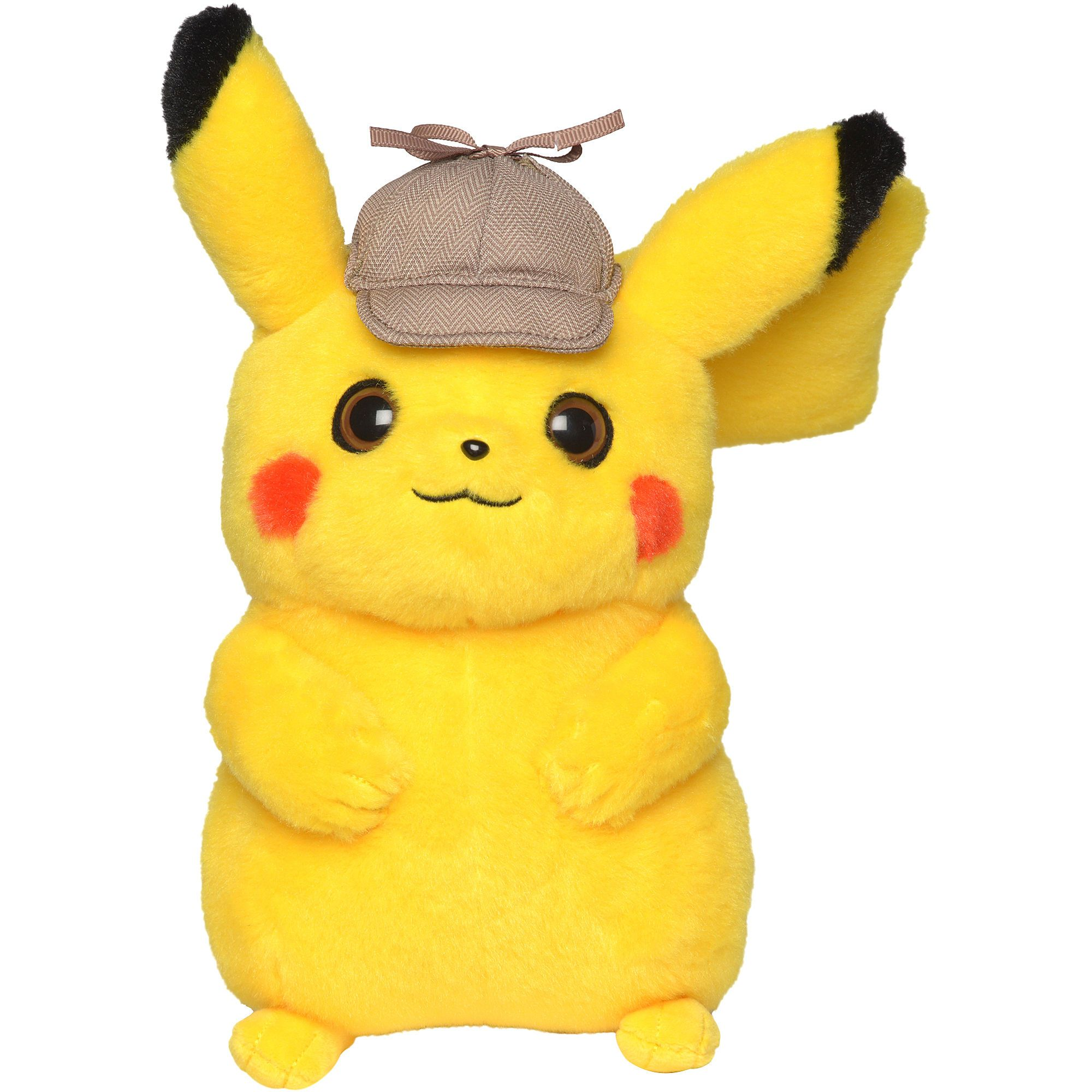 "New With Tag Pokemon Detective Pikachu With Detective Hat 8"" Plush"