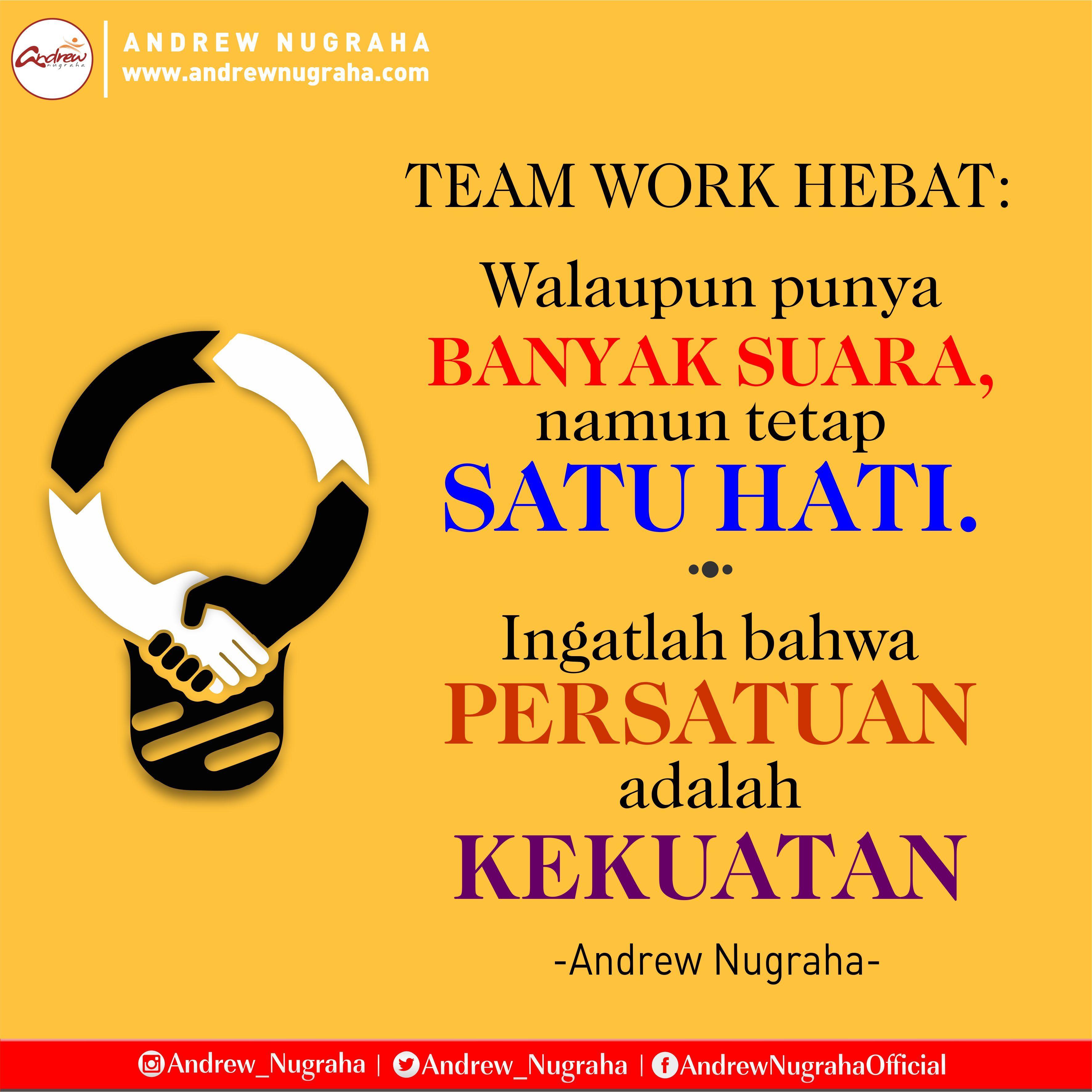 101 Kata Motivasi Kerjasama Tim Untuk Team Work Yg Kompak Kosngosan