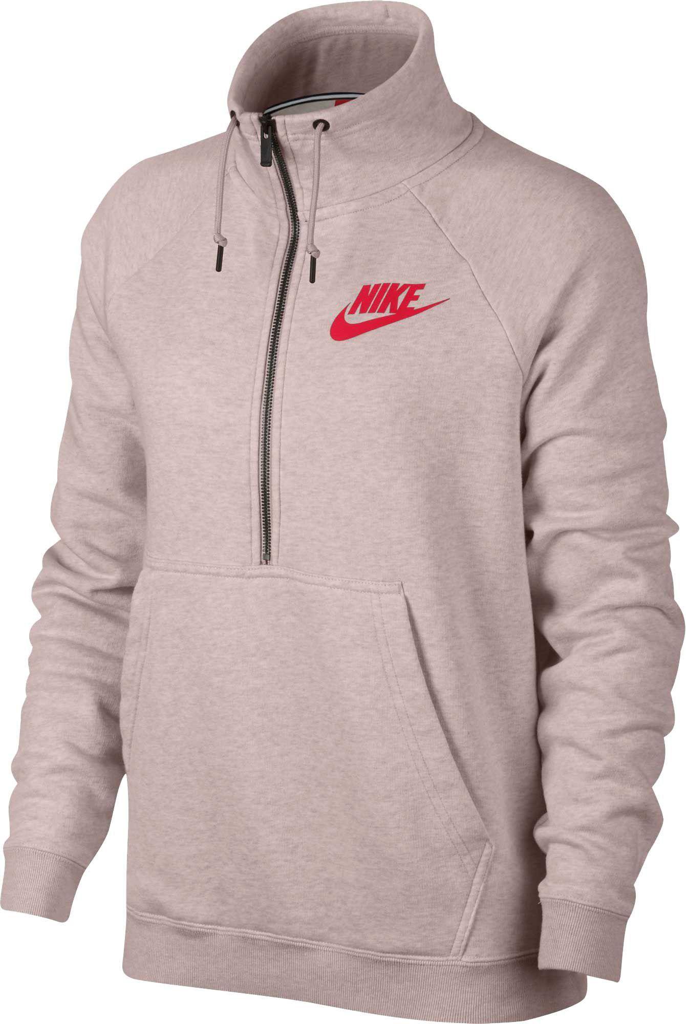 54ff61e2e0c9 Nike Women s Sportswear Rally Half-Zip Sweatshirt