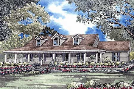 Plan 59298nd Low Country Home Plan Country Style House Plans Low Country Homes Country House Plans