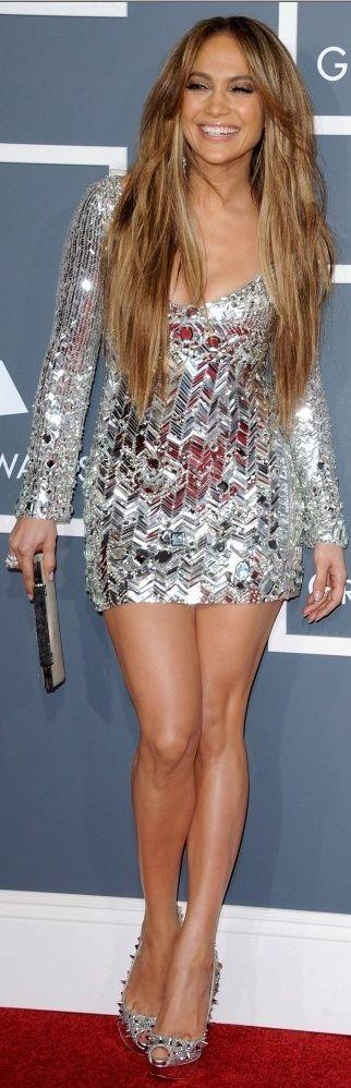 Jennifer Lopez 2011 Grammy's