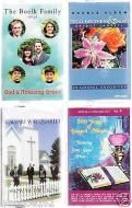 Price $5.59 As Shown In Picturesscan For Detailssee Song List Four CASSETTES200 Years Of Gospel Volume 4THE Boelk Family Sings GodS Amazing Gracecalva...