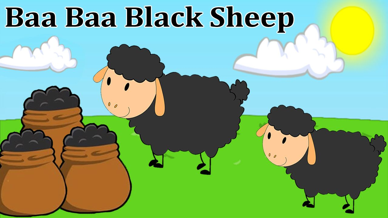 Baa Black Sheep Nursery Rhymes For Children Baby Songs