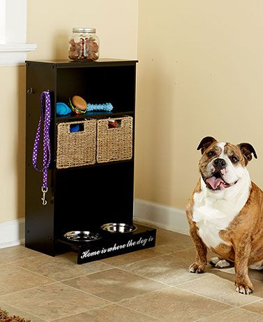 Keep All Your Pet Supplies Together In One Place With An All In One Pet  Storage Center. The Furniture Style Storage Center Features 3 Shelves, ...
