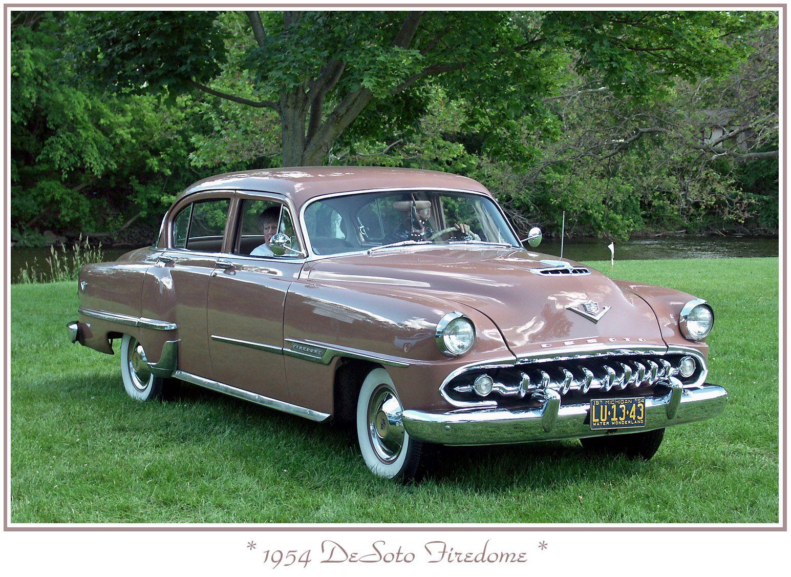 1954 DeSoto Firedome 4Door Sedan Desoto cars, Desoto