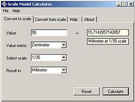 Model Scale Calculator Miniatures Pinterest Calculator
