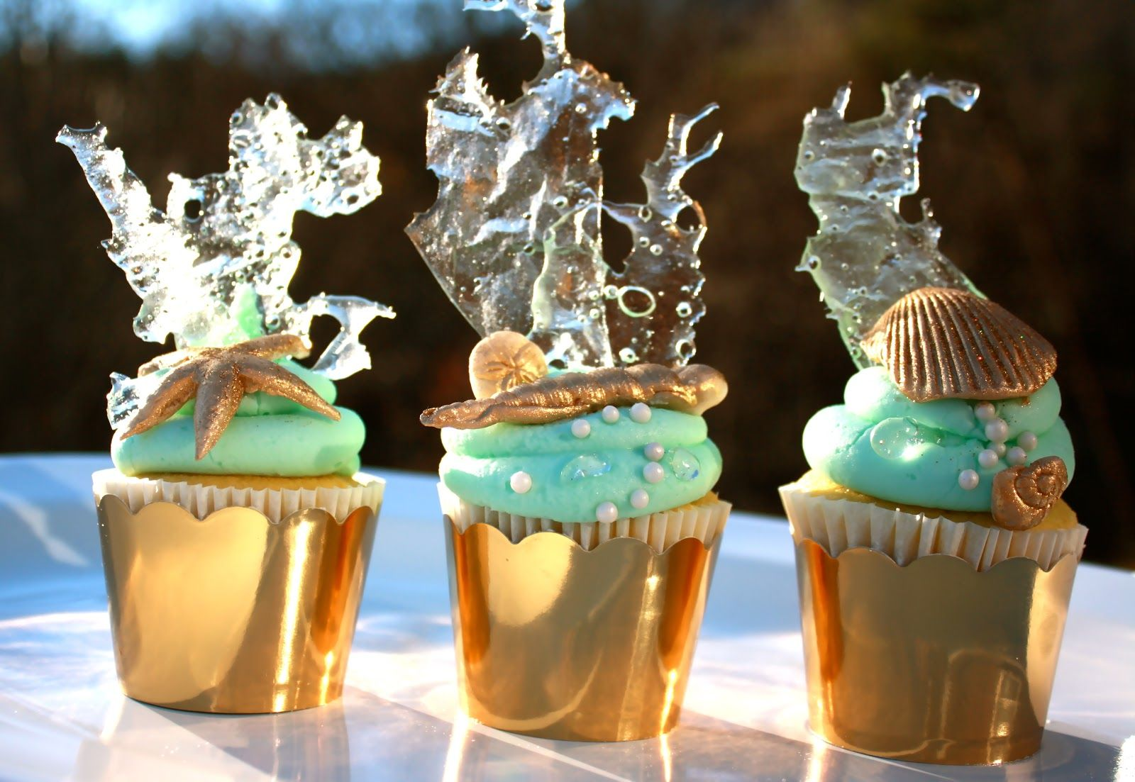 Under The Sea Cupcake Instead Of Wedding Cake If You Want