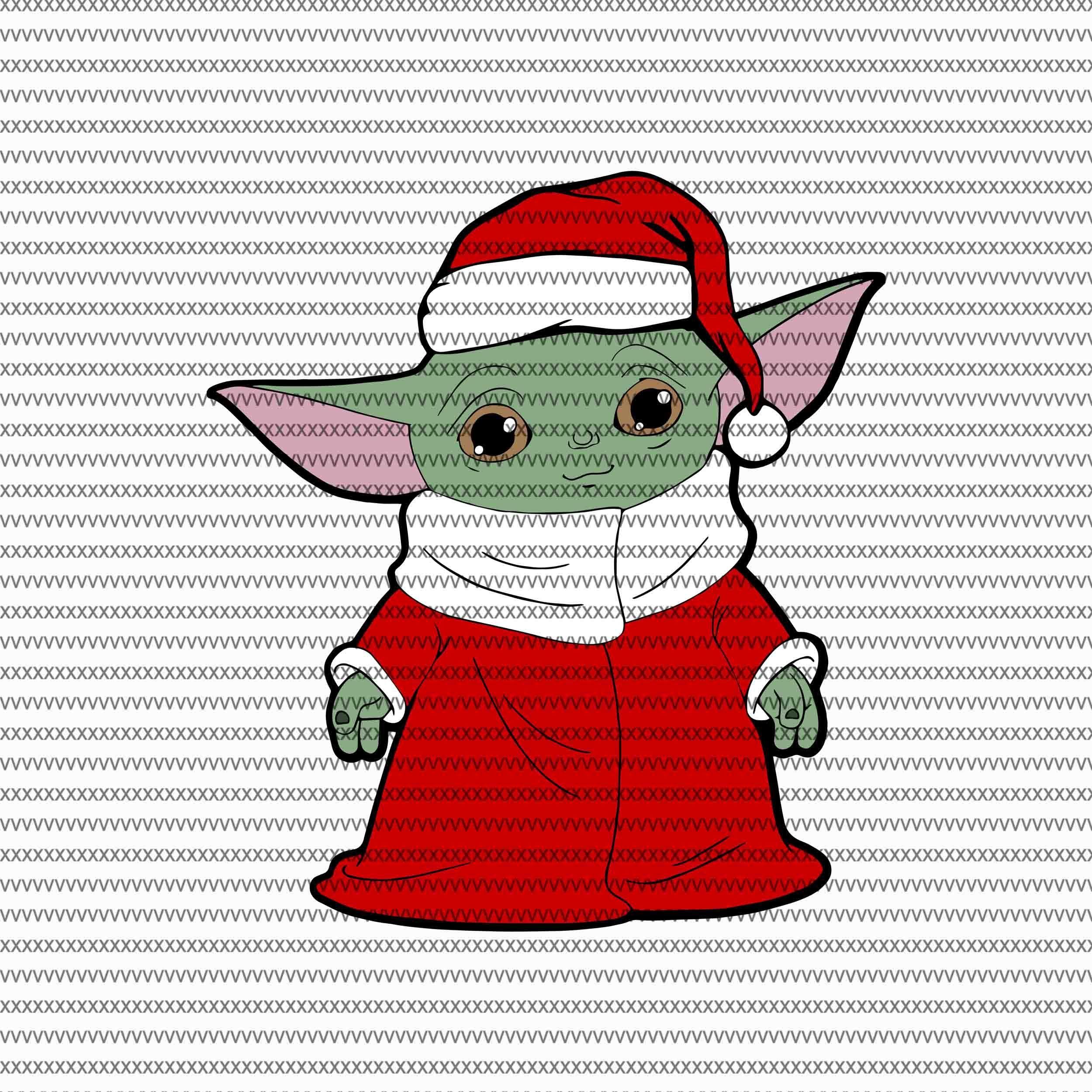 baby yoda christmas svg,BABY YODA png,BABY YODA the