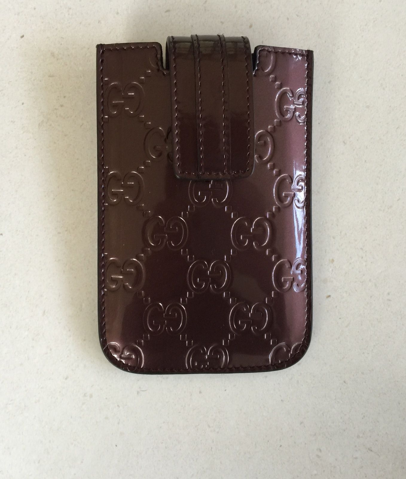 Gucci GG Guccissima Leather Card Holder | Shop Online - Support ...