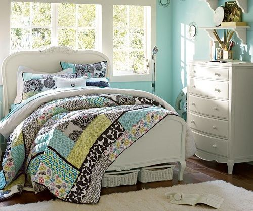 Vintage Inspired Style Chic Bedroom Ideas For Girls Using