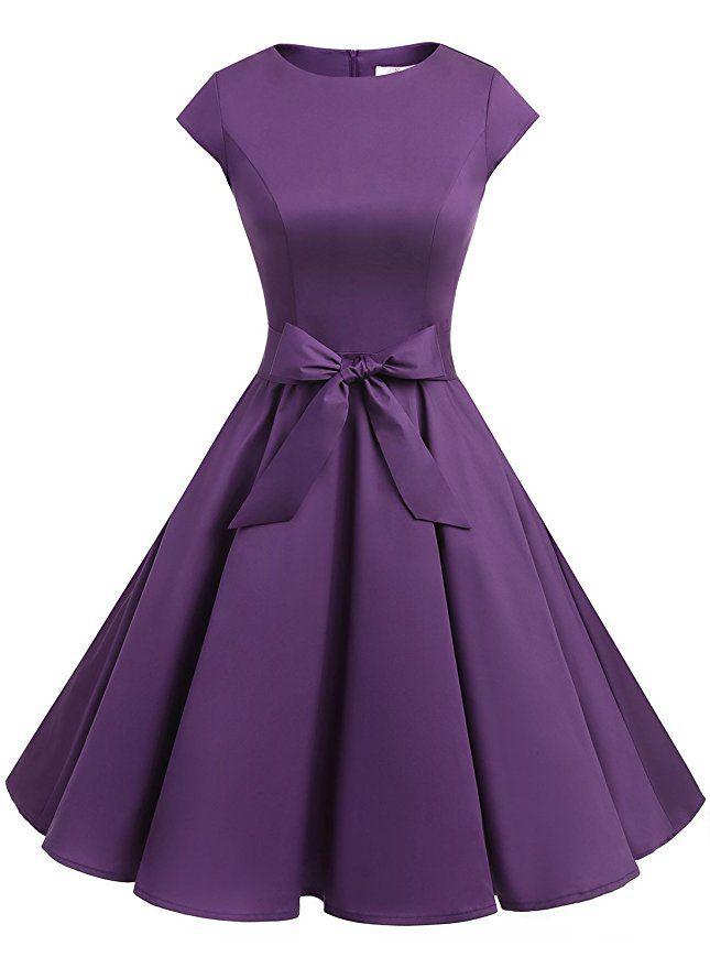 AmazonSmile: Dressystar Women Vintage 1950s Retro Rockabilly Prom ...
