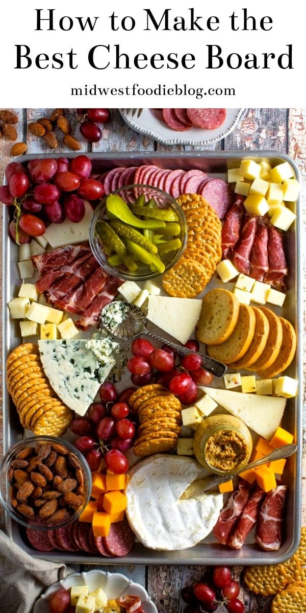 Making a Simple Cheese Board #charcuterieboard
