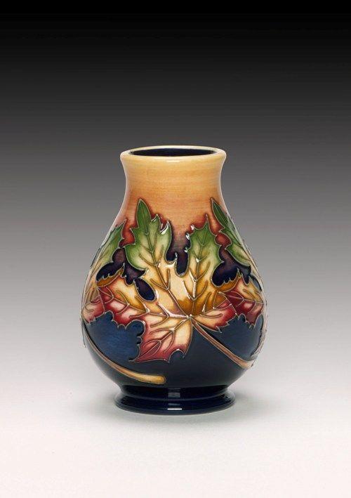 Moorcroft Pottery Maple Leaf Designer Nicola Slaney   Collectables ...