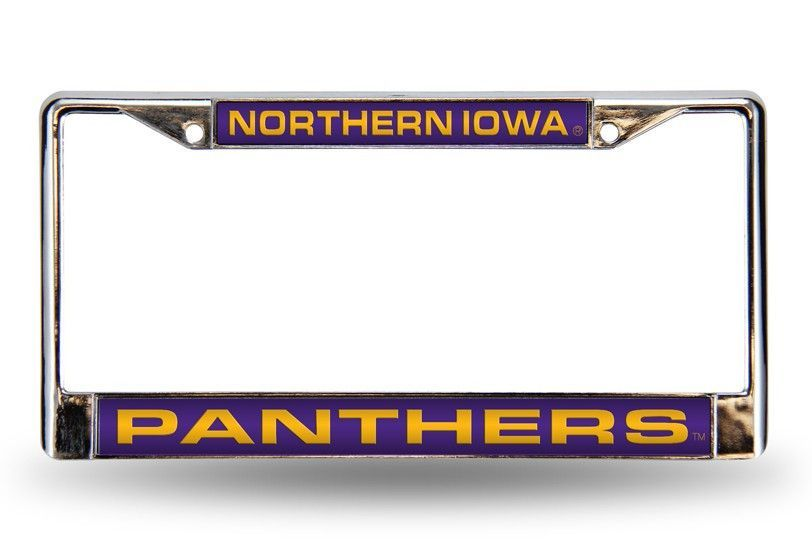 NORTHERN IOWA LASER CHROME FRAME