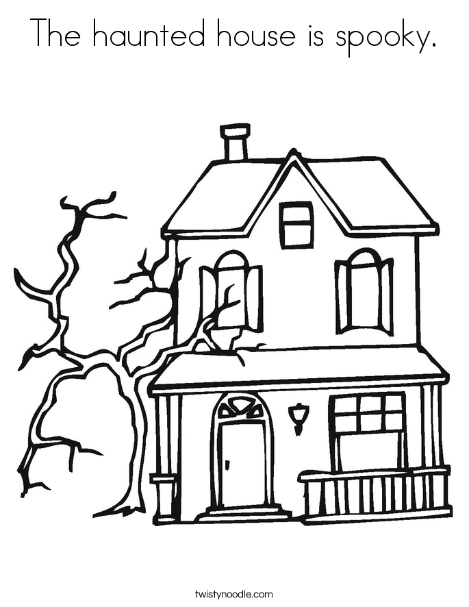Halloween Haunted House Drawing Ideas – Festival Collections | April ...