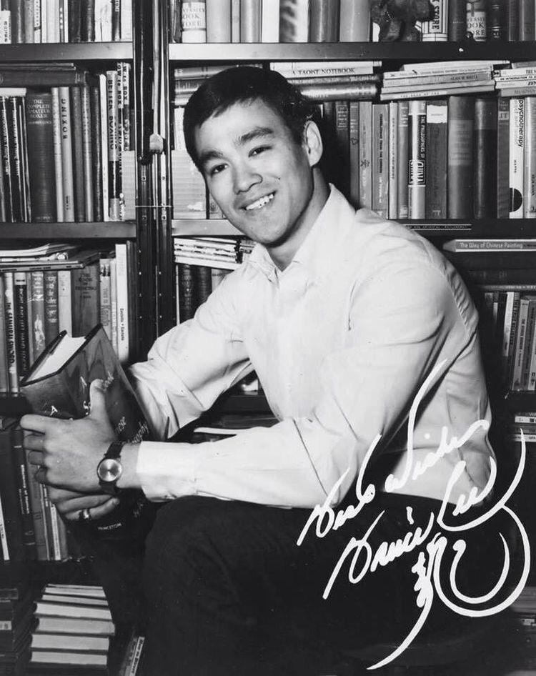 Bruce in his library at home