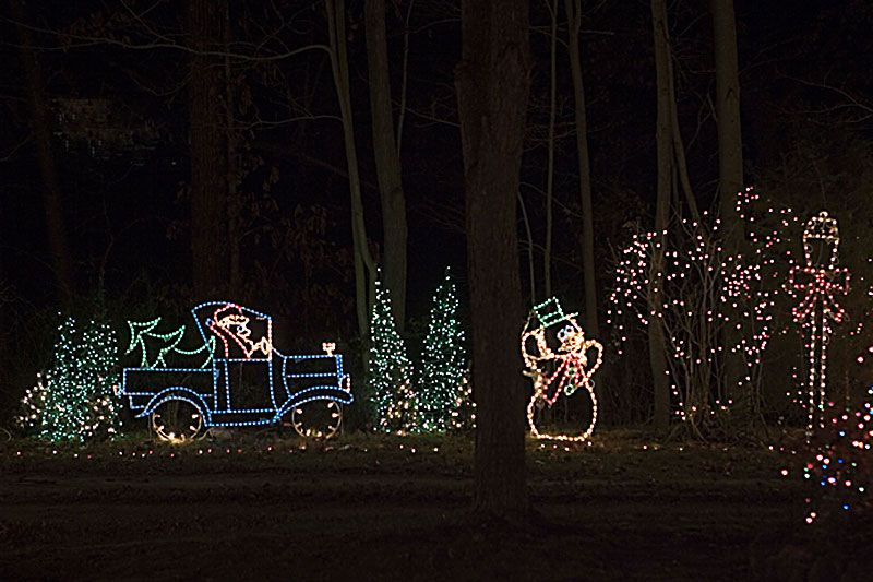 Christmas Done Bright.Santa And Snowman Wireframes From Christmas Done Bright