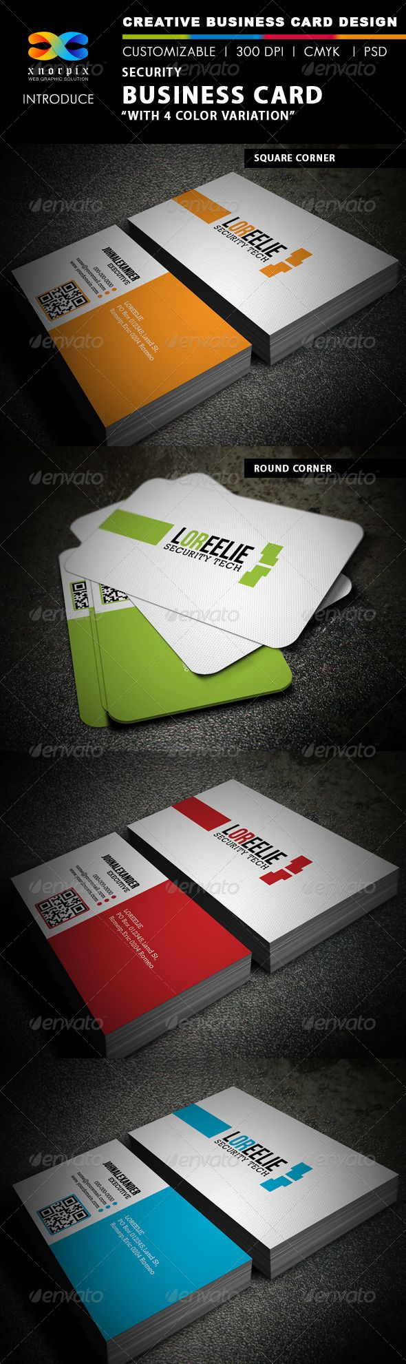Security Business Card | Adobe photoshop, Business cards and Adobe
