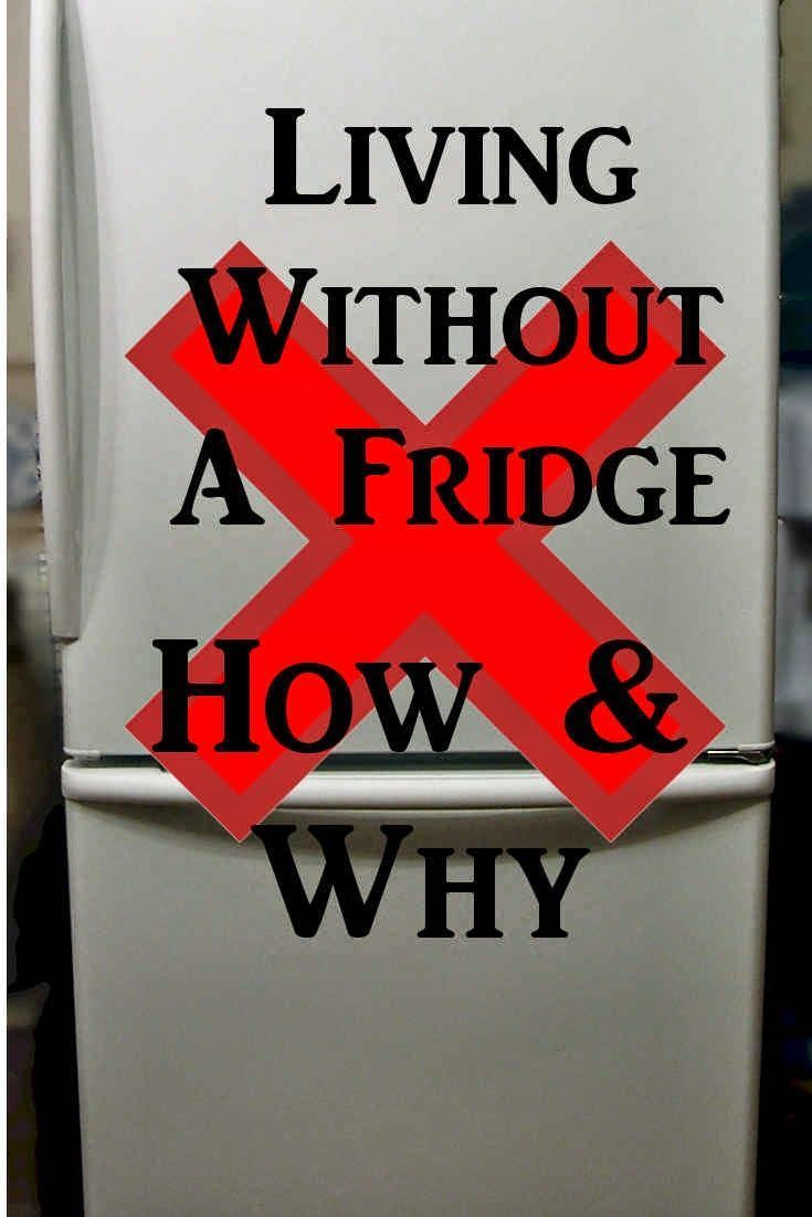 We Live Without Fridge Or Freezer In Our Off Grid House